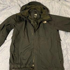 North Face HyVent Rain Outdoor jacket shell